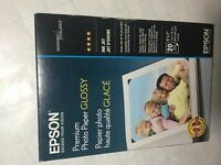 Epson S041945 Ultra Premium Glossy Photo Paper - 5 x 7-inch - 20-Pack