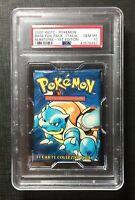 Pokemon PSA 10 Booster Pack Italian 1st Edition Blastoise Set Base Gem Mint