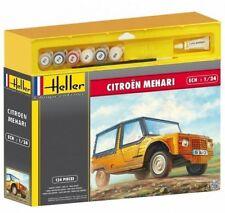Heller 50760G  Gift Set 1:24th scale Citroen Mehari French Mini Moke type car