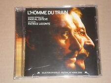 (johnny hallyday) l homme du train musique du film de pascal esteve cd BOF   OST