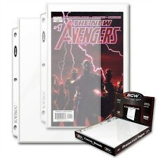 Comic Book Display and Storage Pages x 100 Page Box
