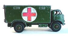 Vintage Dinky Toys #626 MILITARY AMBULANCE VEHICLE ENGLAND MECCANO LTD