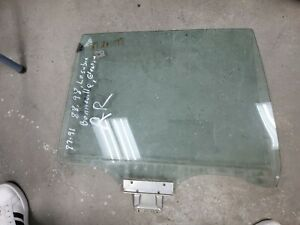 1987-1991 Oldsmobile 98 Buick Electra Lesabre Pass Right Rear Window Glass OEM