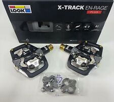 LOOK X-Track EN-Rage Plus Ti Clipless Bicycle Pedal For Enduro Practice Black