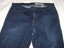 DKNY Women's Capris 12 Blue Jeans Denim Dark Wash  #2