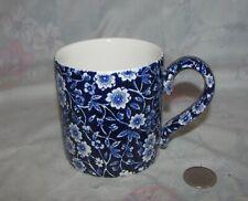 Vintage Calico Burleigh Mug Staffordshire England