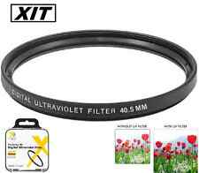 Xit 40.5mm UV Filter for Sony Alpha A5000 A5100 A6000 A6300 A6500 16-50mm