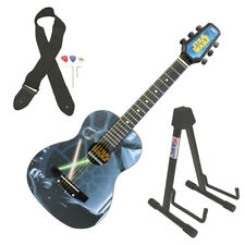 Peavey Star Wars Classic Luke vs Vader 1/2 Size Student Acoustic Guitar & Stand