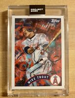 Topps Project 2020 Mike Trout #35 2011 Topps Update Thiele In Hand w/ Box