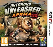 Nintendo 3DS Game Outdoors Unleashed: Africa 3D 2DS Compatible NEW