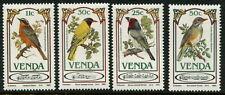 VENDE - 1985 'BIRDS' Set of 4 MLH SG103-106 [B4919]