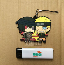 Japan Anime Naruto Suzuke The Last Ver Keychain Rubber Strap Pendant Key Ring