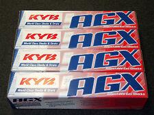 KYB AGX Adjustable Shocks 92-01 Honda Prelude BB2/6 (Front+Rear Set)