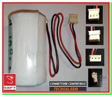 Batteria allarme TECNOALARM pila SAFT LSH20 x sensori infrarossi passivi trired