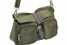 WOMANS BROWN SHOULDER BAG CARRY BAG GIFT FAUX LEATHER