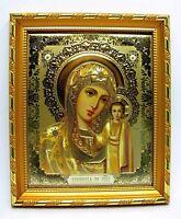 Ikone Gottesmutter von Kazan geweiht икона Богородица Казанская 14,5x12,5x1,7 cm