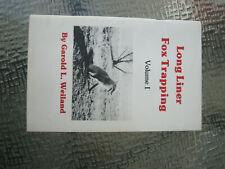 Vintage Hunting Long Liner Fox Trapping Manual By Garold L. Weiland 1974 79