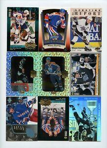 Lot Of (108) Wayne Gretzky Premium Insert Cards HoloGrFX Ultra Bowman Upper Deck