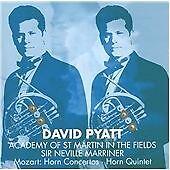 Wolfgang Amadeus Mozart  Horn Concertos 1-4 Horn Quintet (David Pyatt) (CD 2008)