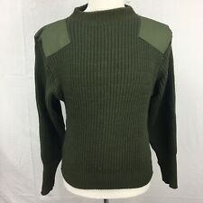 USMC Marine Corps DSCP Olive Green Service Wool Sweater size 40 Used