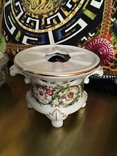 VERSACE WARMER CANDLE LIGHT FANTASY FLOWERS ROSENTHAL NEW IN BOX SALE