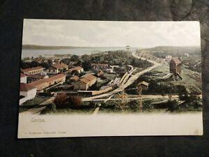 Lovisa, Finland Vintage Postcard With Stamps