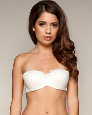 2d30305afbb8f Gossard Femme FATALE 8850 Underwired Strapless Bridal Lightly Padded Ivory  Bra 34 B