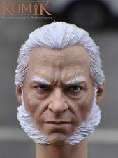 Kumik 1/6 scale Hugh Jackman Head Sculpt Wolverine X-Men Old Logan