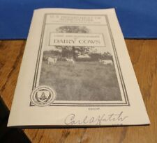 Antique Farm Bulletin from the US Department of Agriculture