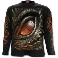 Spiral Direct DRAGON EYE - Long sleeve T-Shirt Biker/Flames/Gothic/Reaper/Tee