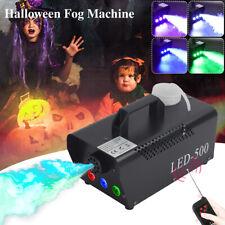 500W RGB LED Nebelmaschine Mit 2 Fernbedienungen DJ Bühne Nebelgerät Show Disco
