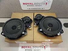 Toyota Tundra Sequoia Front Left & Right JBL Door Speakers Genuine OEM OE
