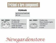 Kupplung Einzel-Cd Disco Kompatibel Ferrari Einachsschlepper MC64 15003 15021