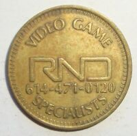 RND VIDEO GAME SPECIALISTS KMART ARCADE GAMING TOKEN NICE COIN