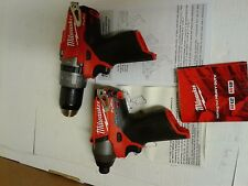 Milwaukee fuel m12 hammer drill (2404-20) & Impact driver (2453-20)  tools only