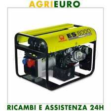 generatore di corrente PRAMAC ES 8000 mot. HONDA GX 390 -TRIFASE + MONOFASE