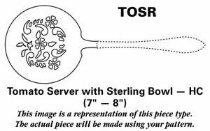 Kirk Stieff Williamsburg Shell  Handcrafted Tomato Server 5312323