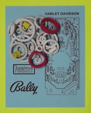1991 Bally / Midway Harley Davidson pinball rubber rings kit