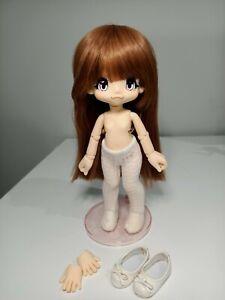 Azone Kikipop Romantic Frill Sugar Caramel Brown Doll Only