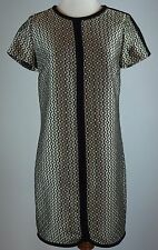 J Crew Collection 0 Diamond Dot Dress Silver Coin Black Taupe Sample New LBR