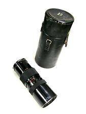 Great Old SOLIGOR MC 85-300mm f/5 ZOOM MACRO LENS w/ NIKON AI MOUNT, Case