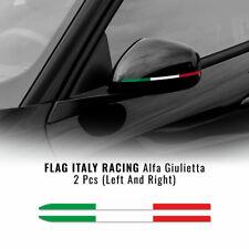 Stripes Strisce Adesive Tricolore Italia per Specchietti Alfa Romeo Giulietta