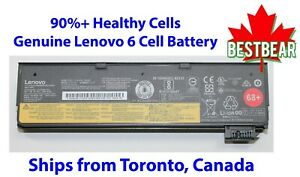 6-Cell Genuine Lenovo 68+ Battery ThinkPad T440 T440s T450 T450s T460 T460p P50s