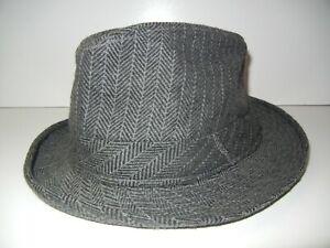 SAN DIEGO HAT CO Pink/Black Polyester FUZZY BUCKET HAT Fedora Sun Cap Women S/M