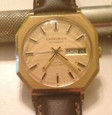 Vintage 1974 Bulova Caravelle Automatic Men's Watch