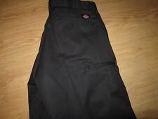 DICKIES MENS BLACK 30  X 32 LOT OF TWO PAIRS WORK PANTS BRAND NEW