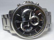Casio Beside Chronograph Retrograde Watch BEM506 - Working