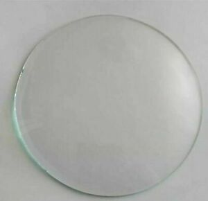 Round Replacement Domed Convex Glass Clock Barometer Frame Gauge Various Sizes