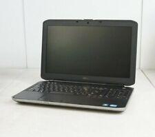 """Dell Latitude E5530 14"""" Intel i5-3320M 2.60GHz 4GB DDR3 WIN7COA No Battery HDD"""