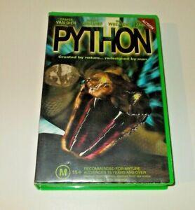Python VHS Pal Big Box ex rental 2000